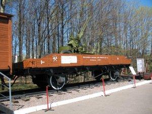 Музей на Поклонной горе. Часть 2. Железнодорожная техника (13 фото)