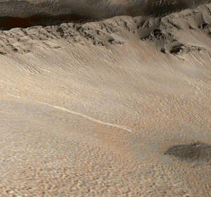 Вода на Марсе была слишком солёной для зарождения жизни