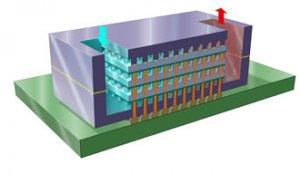 IBM разработала новую технологию охлаждения компьютерных микрочипов
