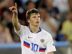 Аршавин назвал желательного для сборной России соперника по полуфиналу Евро-2008