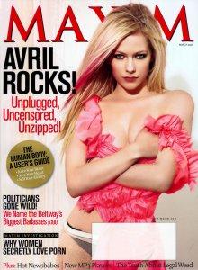 Аврил Лавин - MAXIM июль 2008 – 7 фото HQ + Интервью