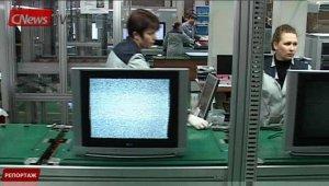 CNews TV. Спецрепортаж. Как в России телевизоры делают