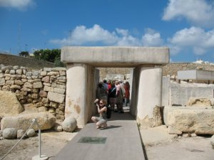 Мальта. Tarxien Temples