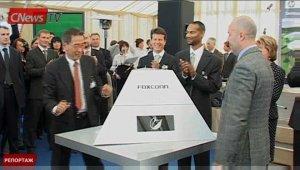 CNews TV. Спецрепортаж. HP строит завод в Санкт-Петербурге