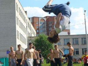 Первый Межрегиональный открытый молодежный фестиваль по паркуру «No limits» в Чебоксарах