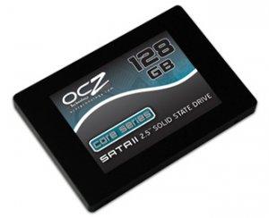 Новый твердотельный диск OCZ емкостью в 128 Гб стоит дешевле 500 долларов