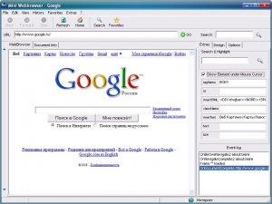 Mini WebBrowser + исходник на Delphi