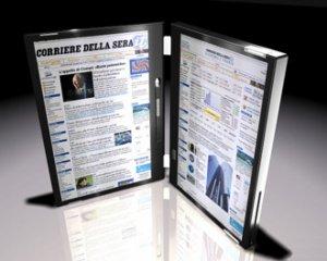 Ноутбук с двумя сенсорными дисплеями может появиться на рынке к концу 2009 года