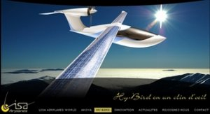 Самолет Hy-Bird совершит кругосветный перелет с помощью батарей Trina Solar.