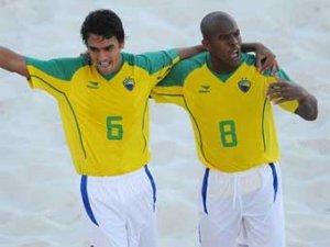 Россия проиграла Бразилии в 1/4 финала чемпионата мира по пляжному футболу