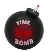Tick Tock Time Bomb Alarm Clock - будильник-бомба