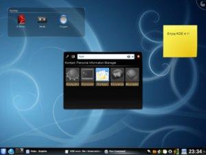Вышла финальная модификация менеджера рабочего стола KDE 4.1