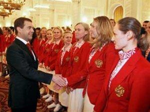 На Олимпиаде-2008 подняли флаг России