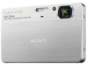 Sony выпустила самую легкую цифровую фотокамеру в мире