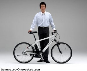 Гибридный велосипед в представлении Yamaha