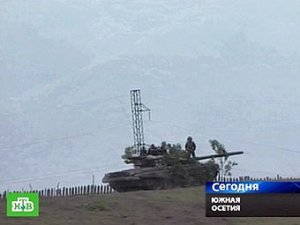 Грузинская артиллерия возобновила обстрел российских миротворцев