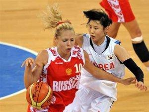 Сборная России по баскетболу победила кореянок