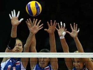 Российские волейболистки одержали первую победу на Олимпиаде