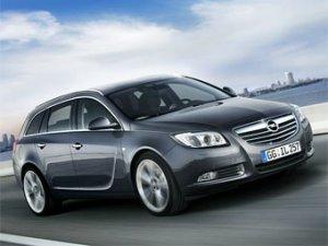 Универсал Opel Insignia представят в Париже