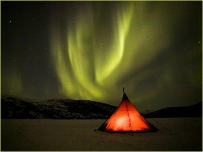 Северное сияние - самое красивое шоу природы (33 фото)