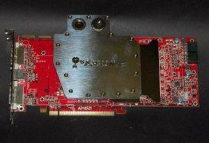 Diamond сильно разогнала Radeon HD 4870 X2 и охладила водой