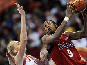 Сборная России по баскетболу проиграла США в полуфинале Игр-2008
