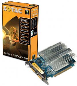 А Zotac здесь тихие – две новинки на базе GeForce 9500 GT