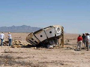 Испытания парашютов для нового корабля NASA закончились неудачей