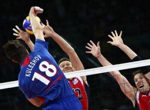 Российские волейболисты проиграли в полуфинале Олимпиады-2008