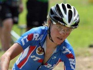 Россиянка завоевала бронзу Олимпиады-2008 в маунтинбайке
