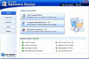 Spyware Doctor 6.0.384