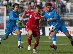 Молодежная сборная России разгромила Грузию
