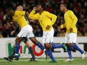 Бразилия разгромила Чили в отборочном матче ЧМ-2010
