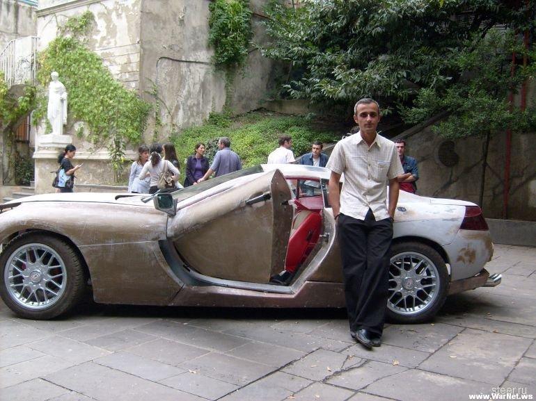 Крутой автомобиль своими руками
