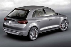 Прототип пятидверной версии хэтчбека Audi A1 готов к премьере