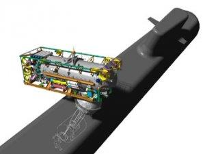 ВМС США получили новый аппарат для спасения экипажей подлодок