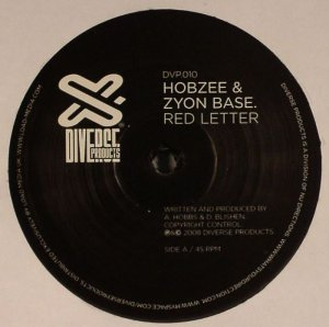 Hobzee & Zyon Base - Red Letter / Don't Go