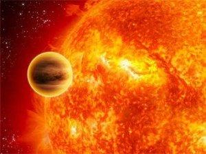 Обнаружена самая горячая и быстрая планета