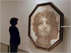Деревянное зеркало (+ видео)
