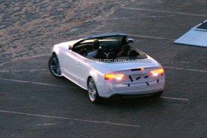 Появились шпионские снимки открытого Audi S5