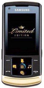 Samsung U900 Soul в эксклюзивном чёрно-золотом исполнении