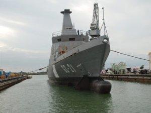 Испанцы спустили на воду первый патрульный корабль для Венесуэлы