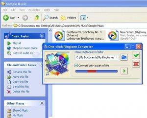 One Click Ringtone Converter 2.3