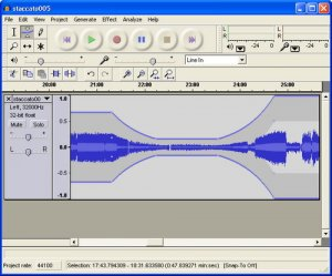 Audacity 1.3.6 for Linux