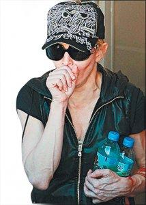 Развод тянет жилы из Мадонны