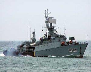 Украина заложит первый военный корвет в 2009 году