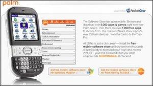 Palm открыла онлайновый магазин приложений для смартфонов