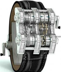 Cabestan Winch Tourbillion Vertical Watch - часы для миллионеров