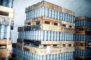США избавились от запасов отравляющего вещества VX