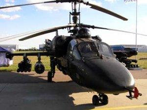 Вертолеты Ка-52 решено запустить в серию